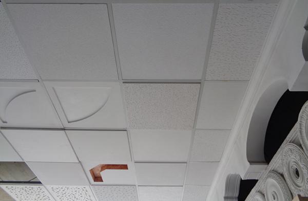 Falsos techos y placa de yeso laminado en alicante - Placas decorativas para techos ...